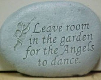 Leave Room Concrete Garden Stone Free Shipping