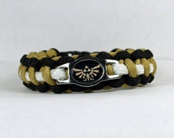 Legend of Zelda Survival Paracord Bracelet