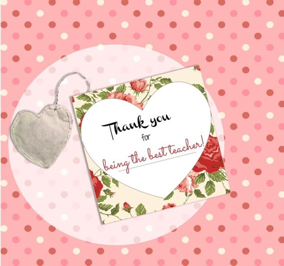 Items Similar To Thank You For Being The Best Teacher