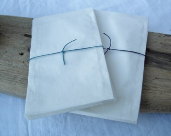 20/50 Small Glassine Wedding Favour / Gift Bags 75mm x 117mm