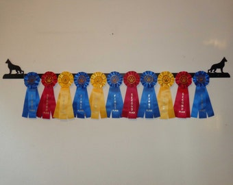 Showoff Ribbon Rack #0107W - German Shepherd