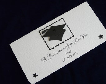 Graduation Money/Voucher/Gift Wallet Personalised