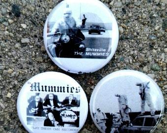 The Mummies pin set of 3