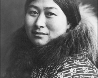 24x36 Poster; Inuit Woman 1907