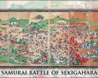 24x36 Poster; Samurai Battle Of Sekigahara Samurai Battle For The Sundered Realm C1600 Shogun Tokugawa Leyasu Tokugawa Bakufu