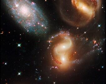 24x36 Poster; Stephan'S Quintet Hubble