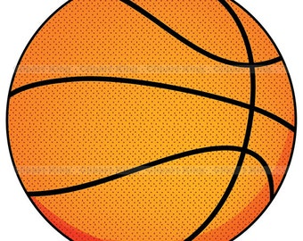 Premium Basketball clipart, vector graphics, digital clip art, digital images