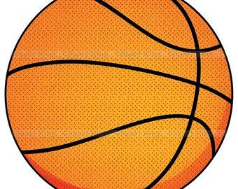 Premium Basketball clipart, vector graphics, digital clip art, digital images