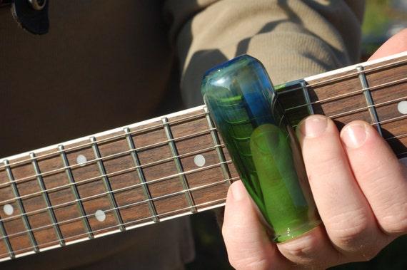 guitar slide hand blown glass medicine bottle style slide. Black Bedroom Furniture Sets. Home Design Ideas