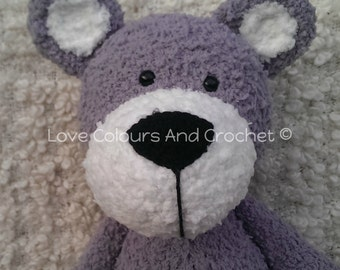 XXL Teddy Bear Amigurumi Stuffed Animal Toy Crochet