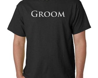 Groom T-Shirt All Sizes And Colors (144)