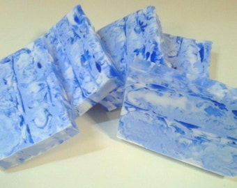 Fresh Picked Blueberry Soap - Goats Milk and Glycerin