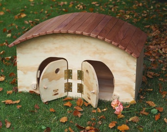 HOTEL WP ( cat house for 2 cats with scratching post - pet furniture) - Blitzen made in Italy 100%
