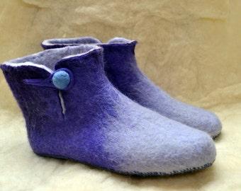 felt slippers boots