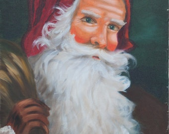 Santa with Toy Bag