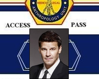 Bones TV Show Prop Badges - Real Badges Complete with Clip