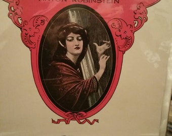 Vintage Sheet music Melody In F