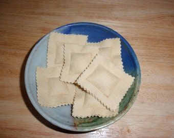 Wool Felt Play Food-Ravioli
