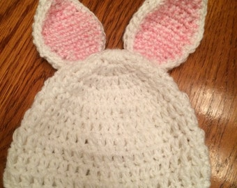Baby Bunny Ears Hat