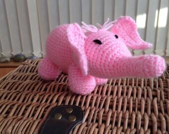 Handmade elephant toy