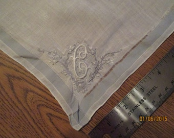 Fine Cotton Handkerchief