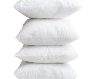 18x18 Down Pillow Insert, 18x18 Down Pillow Filler, Made in the USA