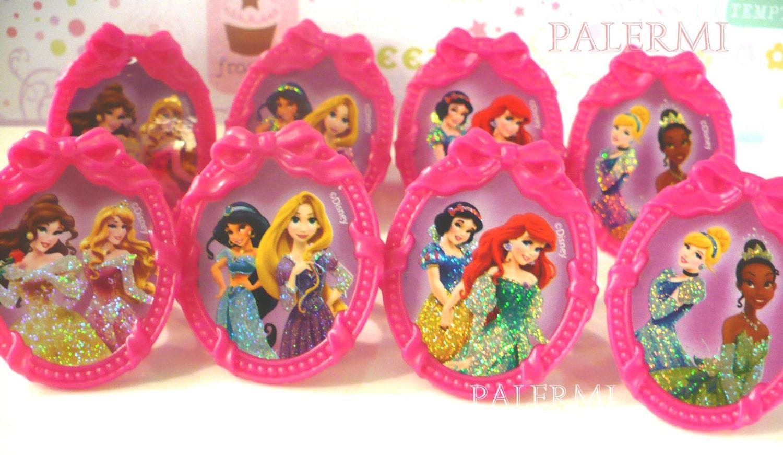 disney princess cupcake topper rings princess cupcake by