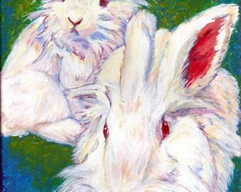 Lionheads - 8x10 Canvas Print