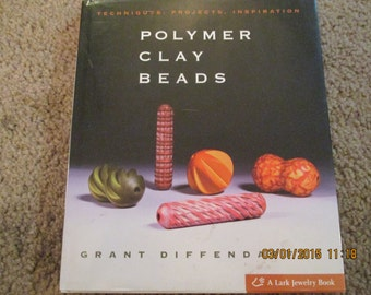 Polymer clay beads book