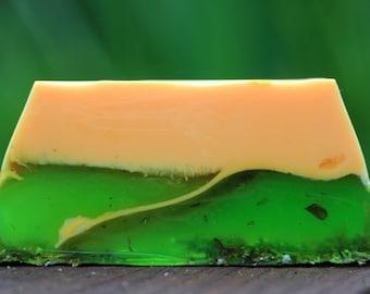 """Soap """"Spruce - mandarin"""""""