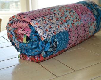 Vintage Inspired Modern Floral Lap Quilt