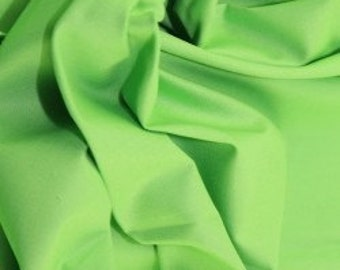 Lime green 100% cotton fabric.