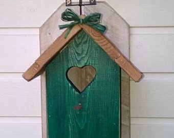 Wooden Bird House-bird house