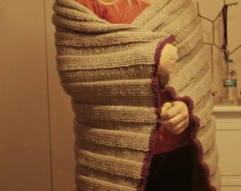 knitted throw by Özlem