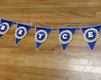 Party banner, pennant