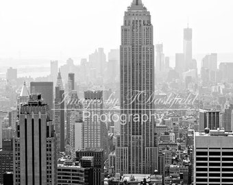 Digital Download, Empire State Building, Black and White, Fine Art Photography, , New York City Photography, NYC Pictures