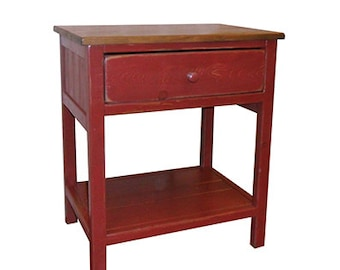 Nightstand, Reclaimed Wood, Vintage, Rustic, Shabby Chic, Bedroom