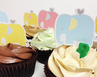 Elephant Parade Cupcake Kit