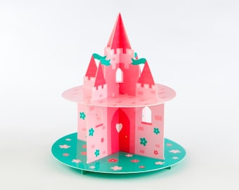 Pretty Princess Cake Stand