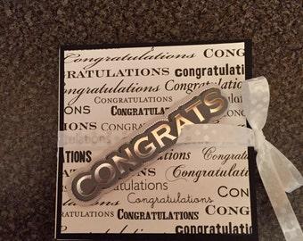 4x4 Miniature Scrapbook, Accordion - Graduation