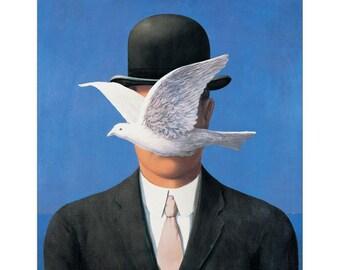 MAGRITTE-Lhomme au chapeau EC21207