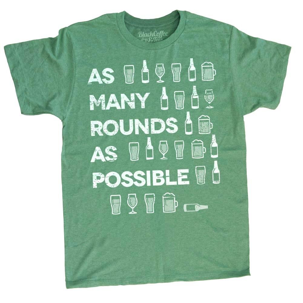 gym shirt mens st day shirt crossfit shirt beer shirt mens craft beer shirt amrap hand printed on a mens tshirt