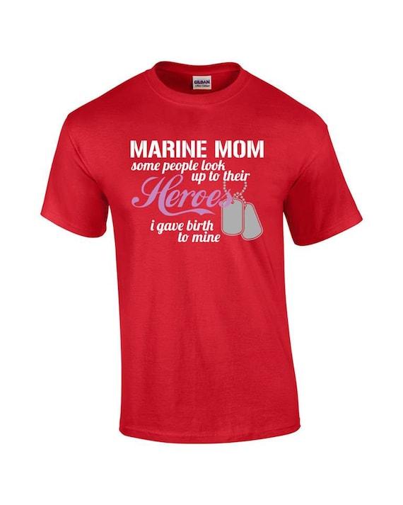 Marine mom t shirt marine mom shirt by digitalonegraphictee for Custom boat t shirts