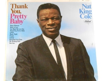 Sealed Nat King Cole Thank You Pretty Baby 1967 Vinyl LP