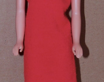"""1960's mary makeup tressy 12"""" doll with original dress - american character - vintage"""