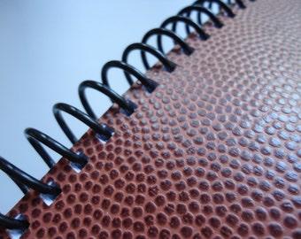 Textured Football Notebook (Three Available)