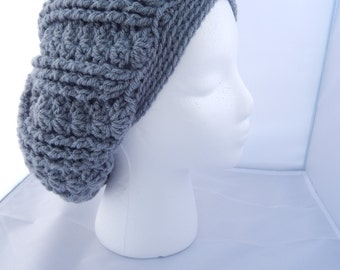 Gray Slouch Hat