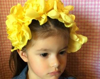 Yellow Blossom Headband