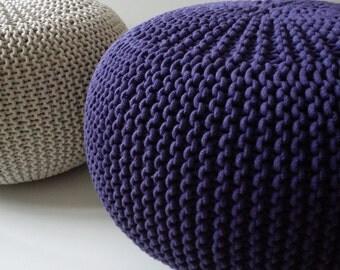 Mobili maglia pouf sedile soggiorno camera da letto di fabrykawis - Pouf camera da letto ...