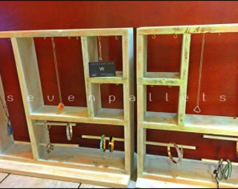 Custom Jewelry Display Cases Made Form 100 Reclaimed